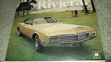 ★★1969 BUICK RIVIERA VINTAGE AD 69 INFO PHOTO★★