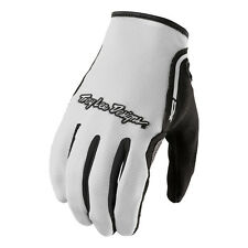 Troy Lee Designs White XC Off-Road Riding Gloves - Adult Large