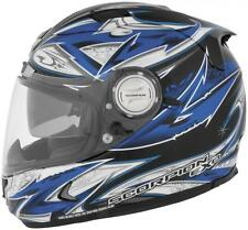 Scorpion EXO-1100 Street Demon Full Face Motorcycle Helmet Blue