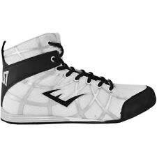 Everlast Grid Low Top Boxing Shoes - White - boots mma training