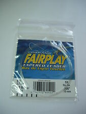 CORTLAND FAIRPLAY TAPERED FLY FISHING LEADER Various Sizes
