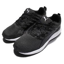 Puma Flare Mesh Wns Breathable Black White Womens Running Shoes 189029-03