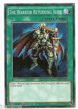 The Warrior Returning Alive SR02-EN032 Common Yu-Gi-Oh Card Mint 1st English New