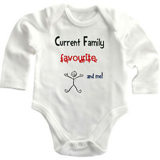 Current Family Favorite And Me Long Sleeve Baby Bodysuit One Piece