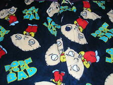 Family Guy Stewie Griffin Mens Fleece Lounge/Sleep Pant Born To Be Bad