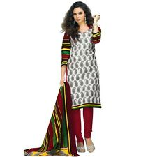 Ready to Wear Ethnic Printed Cotton Salwar Kameez Suit Indian Pakistani-DT-5004