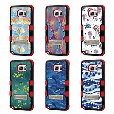 For LG G4 TUFF Hybrid Stand Rubber Hard Case Red Black 3Colors