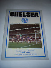 CHELSEA v LUTON TOWN 1975/76 - DIVISION 2 - FOOTBALL PROGRAMME