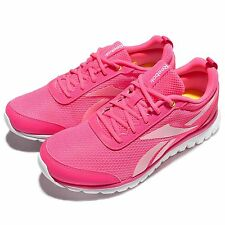 Reebok Sublite Sport Pink White Kids Youth Junior Running Shoes Sneakers AR3275
