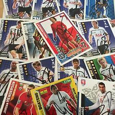 MATCH ATTAX & EXTRA,WORLD CUP 2014 AND SHOOT OUT SIGNED CARDS CHOOSE FROM LIST