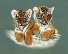 Tiger Cub Limited Edition Giclee Print by Robert J. May