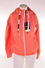 2014 NWT WOMENS NIKITA ROCKWELL FLEECE JACKET $100 nasturtium orange zip up