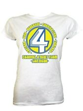 New San Diego News Team Ladies White T-Shirt