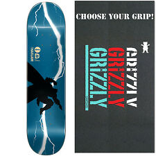 ALMOST Skateboard Deck HASLAM BATMAN DARK KNIGHT RETURNS with GRIZZLY GRIPTAPE