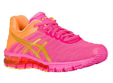 NEW WOMENS ASICS GEL-QUANTUM 180 RUNNING SHOES TRAINERS HOT PINK / GOLD / ORANGE