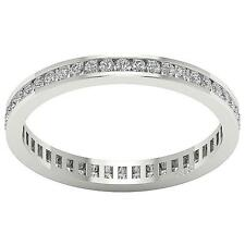 14Kt Solid Gold SI1/G 1.65Ct Round Diamond Eternity Anniversary Stackable Ring