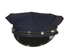 Police Security Cap 8 PT Navy Blue Police Security Duty Cap Rothco 5661