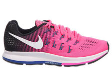 NEW WOMENS NIKE AIR ZOOM PEGASUS 33 RUNNING SHOES TRAINERS PINK BLAST / BLACK