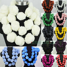Special Cute Stylish Fashion Women's Balls Pom Pom Solid Color Long Scarf Shawl