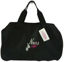 Navy Wife Dog Tags Duffel Bag Duffle Gym Tote Sailor Spouse Monogram Black Now