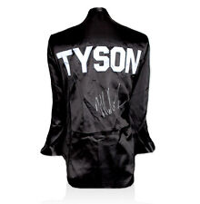 Mike Tyson Signed Boxing Robe