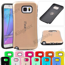 iFace Mall Heavy Duty Shock Proof Tough TPU Hard Cover Case For Samsung Phones