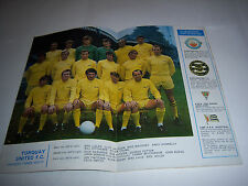 FOOTBALL LEAGUE REVIEW MAGAZINE 1970/71 - #527 - TORQUAY UNITED
