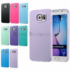 Soft Rubber TPU Silicone Gel Back Cover Case Skin For Samsung Galaxy S6/S6 Edge