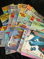 VINTAGE AERO MODELLER MAGAZINE 1950s/1960s/1970s Choose from Selection