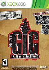 Power Gig: Rise of the SixString (Microsoft Xbox 360, NEW, 2010) 70 Songs