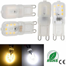 G9 3W LED Silicone Crystal Light Corn Bulb SMD 2835 14LEDs 110V 220V Lamp Bright