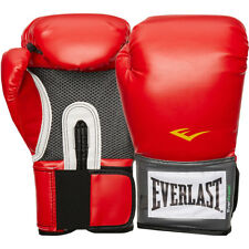 Everlast Boxing Pro Style Training Gloves - Red