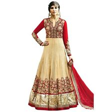 Designer Anarkali Wedding Salwar Kameez Suit Indian Bollwood-HL-Safeena-2774