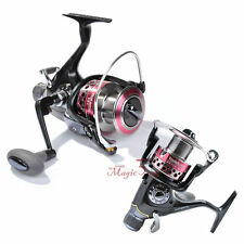 YOSHIKAWA Bait-feeder Spinning Reel Beach Saltwater Carp Coarse Fishing 11BB