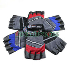 Men Women fingerless Driving Motorcyle Bike Sport Fitness Gloves Protective New
