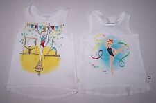 Nwot New Savannah Gymnastics Gymnast Artistic Rhythmic Tank Top Shirt Cute Girl