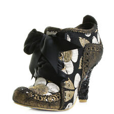 Womens Irregular Choice Abigails Third Party Gold Multi Ankle Boots Size