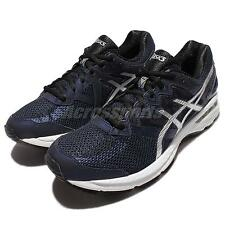 Asics GT-2000 4 IV 2E Wide Blue Silver Mens Running Shoes Sneakers T607N-5293