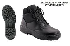"""Black 6"""" Forced Entry Tactical BOOTS Military USMC Army Security EMT SWAT Police"""