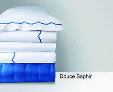 YVES DELORME DOUCE PILLOWCASE IN SAPHIR COLOR