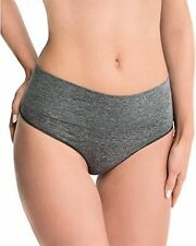 New Spanx Everyday Shaping Shaper Thong Panty SS0815 Heathered Olive Gray L XL