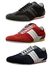 Hugo Boss Mens Victov Lace Up Casual Athletic Fashion Sneakers Shoes Kicks