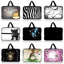 """17"""" 17.3"""" Neoprene Laptop Carry Bag Case Sleeve Computer PC Cover + Hide Handle"""