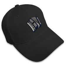 ACCORDION MUSIC Embroidery Embroidered Adjustable Hat Baseball Cap