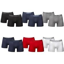 Levis Levi's 4 to 12 Pack Boxer Trunks Boxer Shorts Grey NEW