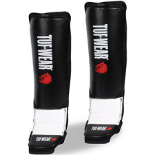 Tuf-Wear MMA Grappling Shin and Instep Guards - Black