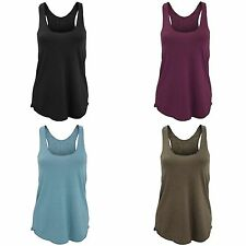 American Apparel Womens/Ladies Plain Tri-Blend Racerback Tank/Vest Top