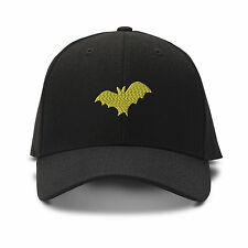 BAT ANIMALS Embroidery Embroidered Adjustable Hat Baseball Cap
