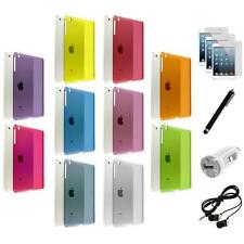 For iPad Mini 1 2 w/ Retina Display Hard Clear Case Cover+6X Accessory Bundle