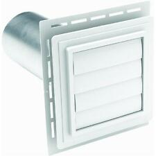 WHITE EXHAUST VENT Louvered Exhaust Vent NEW